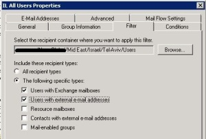 Enable Users With External E-Mail Addesses